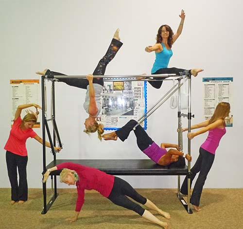 An Awesome Pilates Team